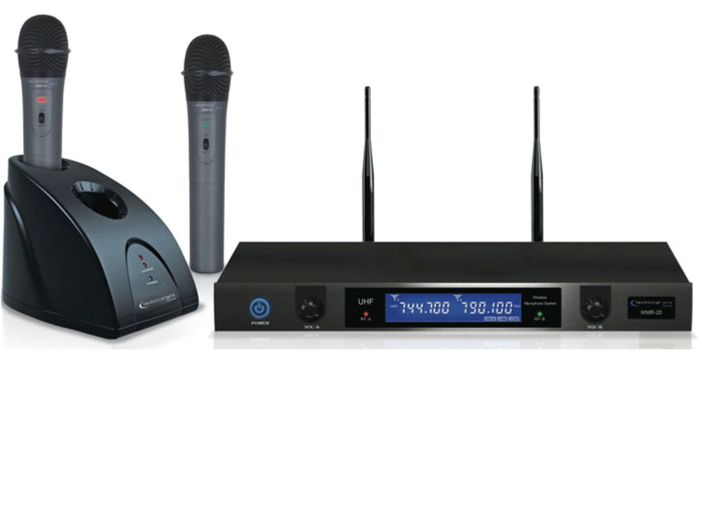 Technical Pro - Pro UHF Dual Wireless Microphone System