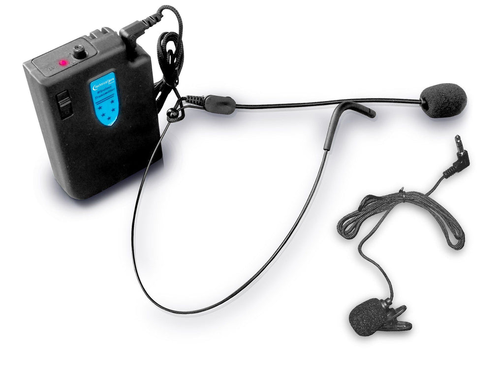 Pro Wireless Headset & Lapel Microphone System