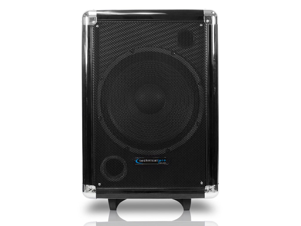 "Technical Pro - Rechargeable 12"" Portable Subwoofer"