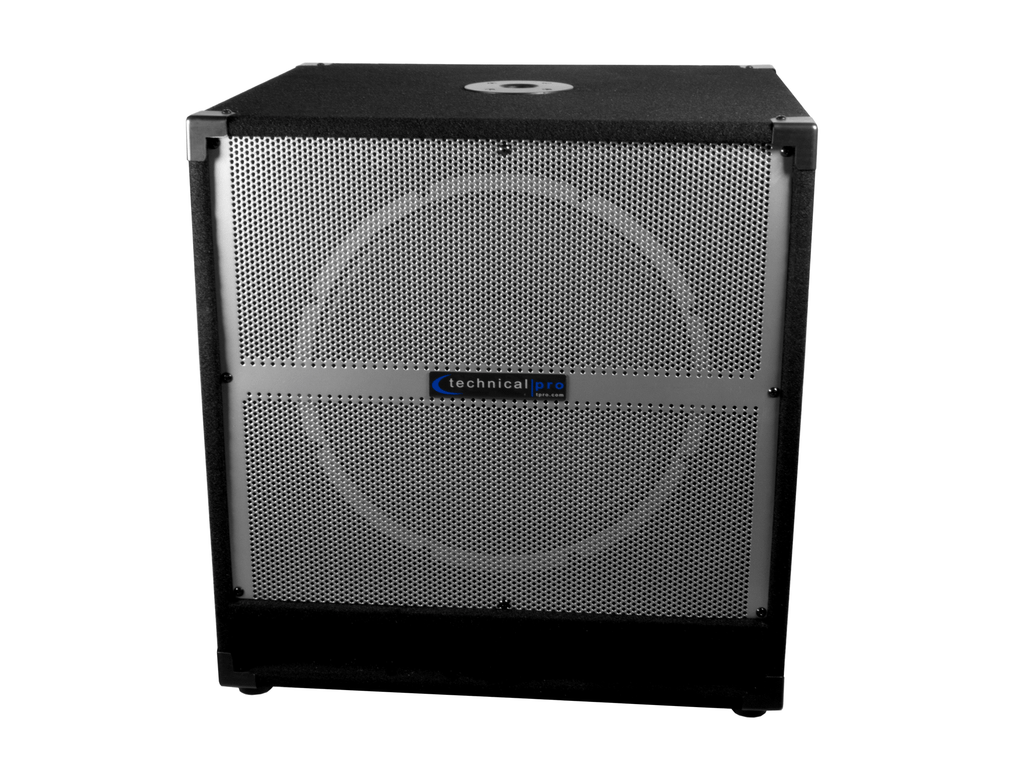 "Technical Pro - Active 15"" Carpeted Subwoofer"