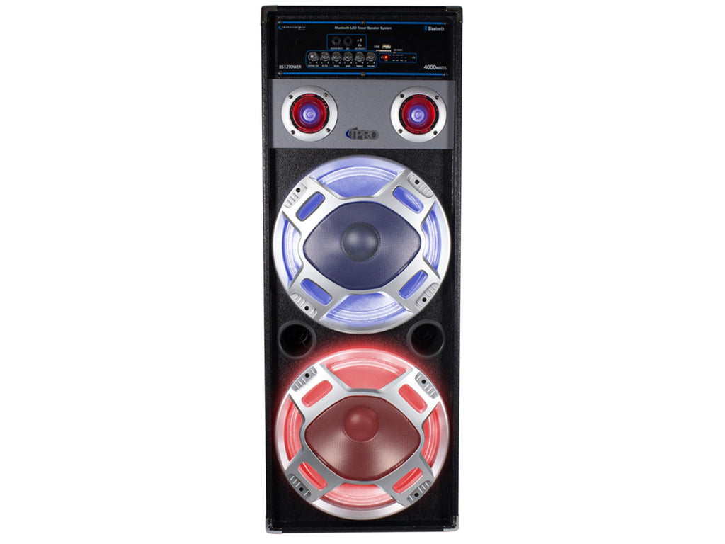 "Technical Pro - 12"" LED Tower Speaker Set"