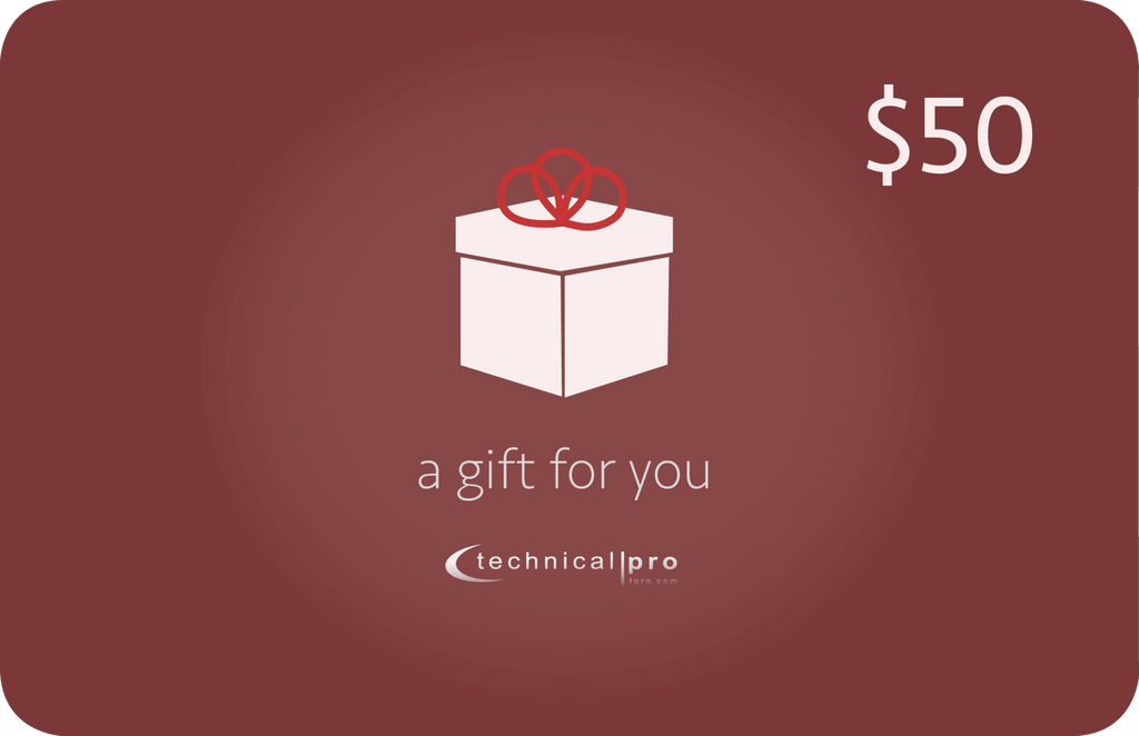 Technical Pro - Gift Card