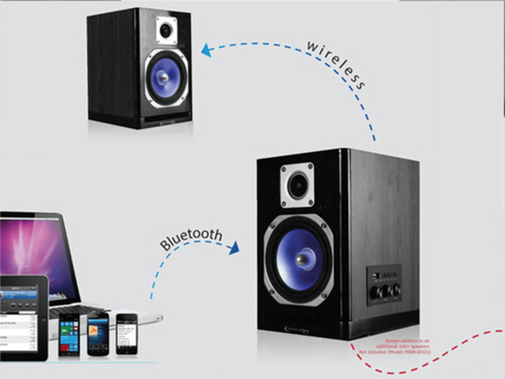 Technical Pro - Wireless Bluetooth® Studio Monitor Speakers