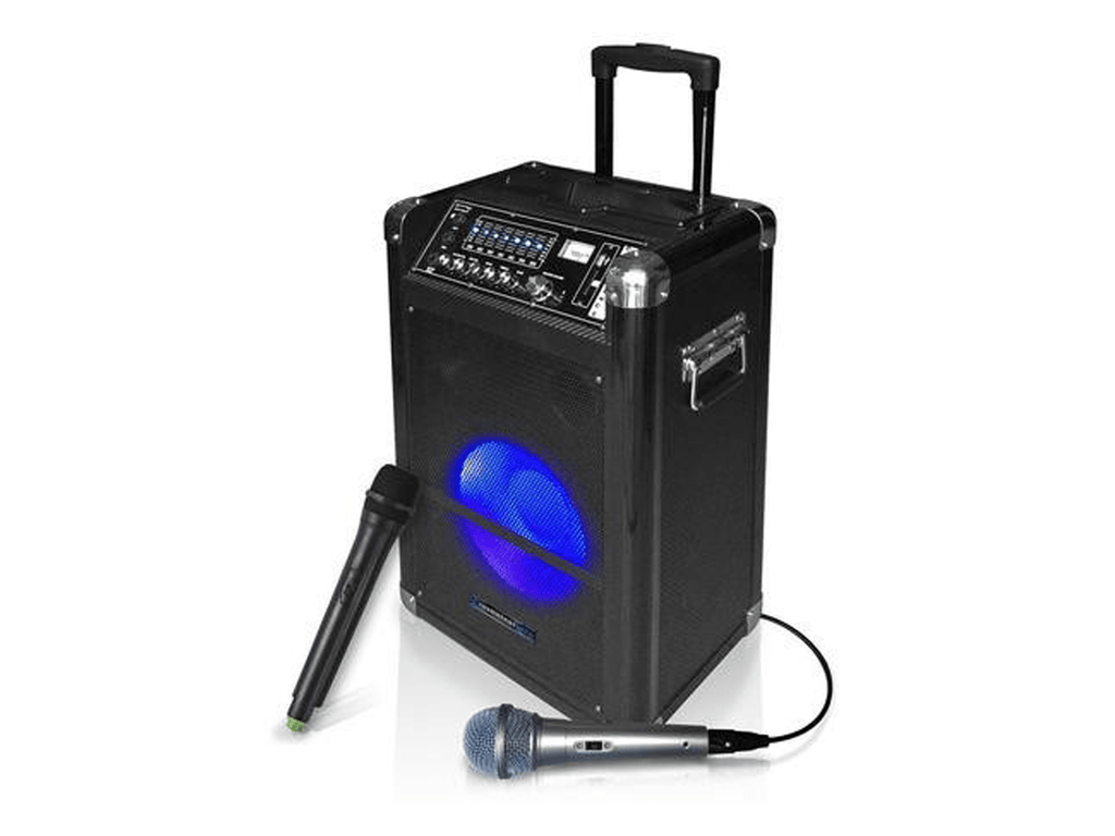 "Technical Pro - Rechargeable 10-12"" Active LED Loudspeaker"