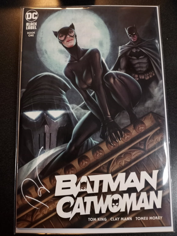 Batman Catwoman #1 Ryan Kincaid Cover a Trade Dress Variant
