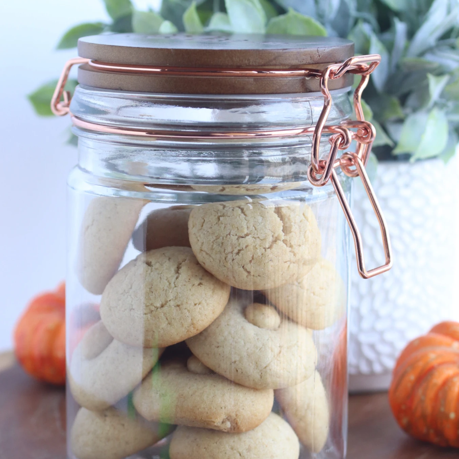 Pumpkin Spice Cookie Jar