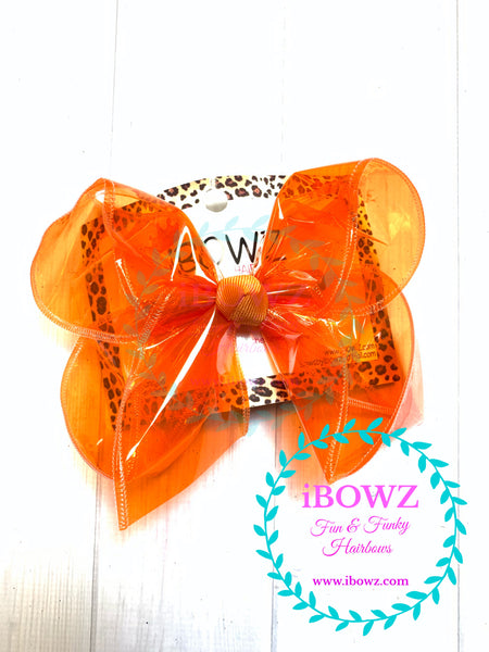 Jellies Fun iBOWZ~ CHOOSE YOUR BOW COLOR ~ Translucent & Waterproof  Hairbows in several Fun Colors ~ iBOWZ Fun & Funky Hairbows