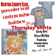 NCES | Made to Match iBOWZ|  Newton County Thursday Shirts