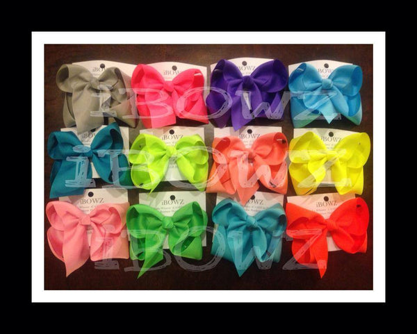 X-large  Basic Spring & Summer hair bows buy more & save