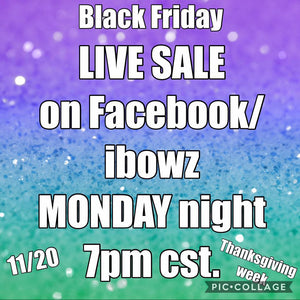 LIVE SALE FOR LINDSEY NOTO
