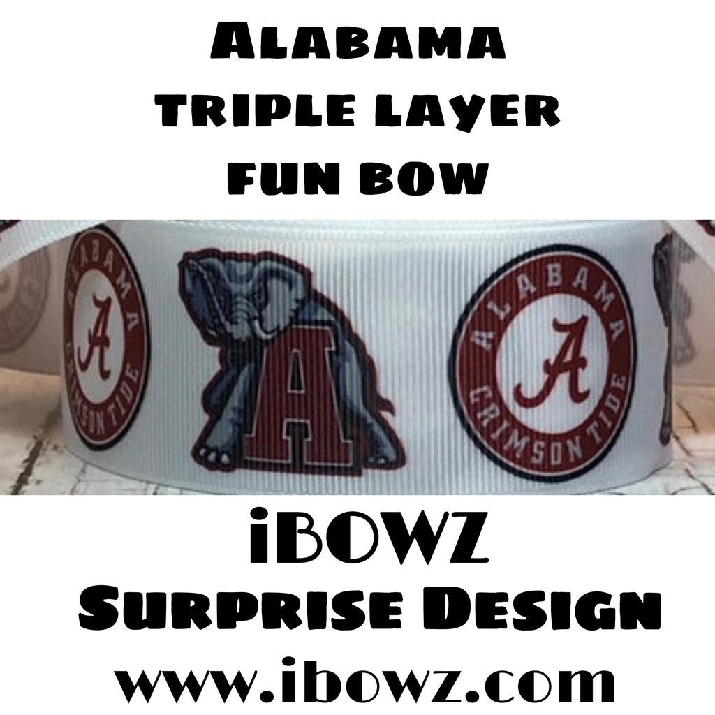Surprise Design ~ ALABAMA Fun iBOWZ