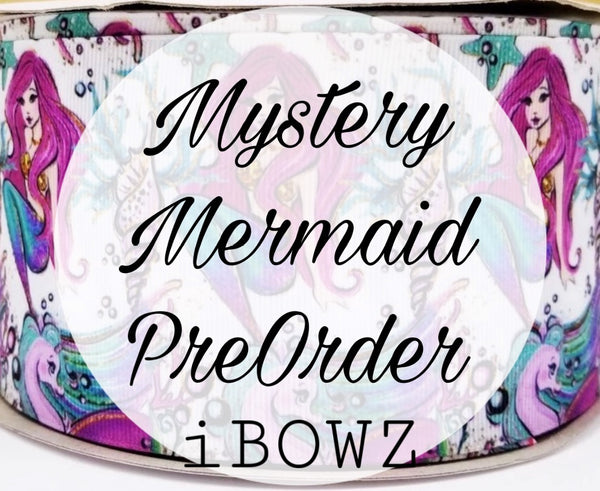 MYSTERY MERMAID PREORDER HAIRBOW ~ Preorder hair bow ~ ibowz fun & funky hairbows