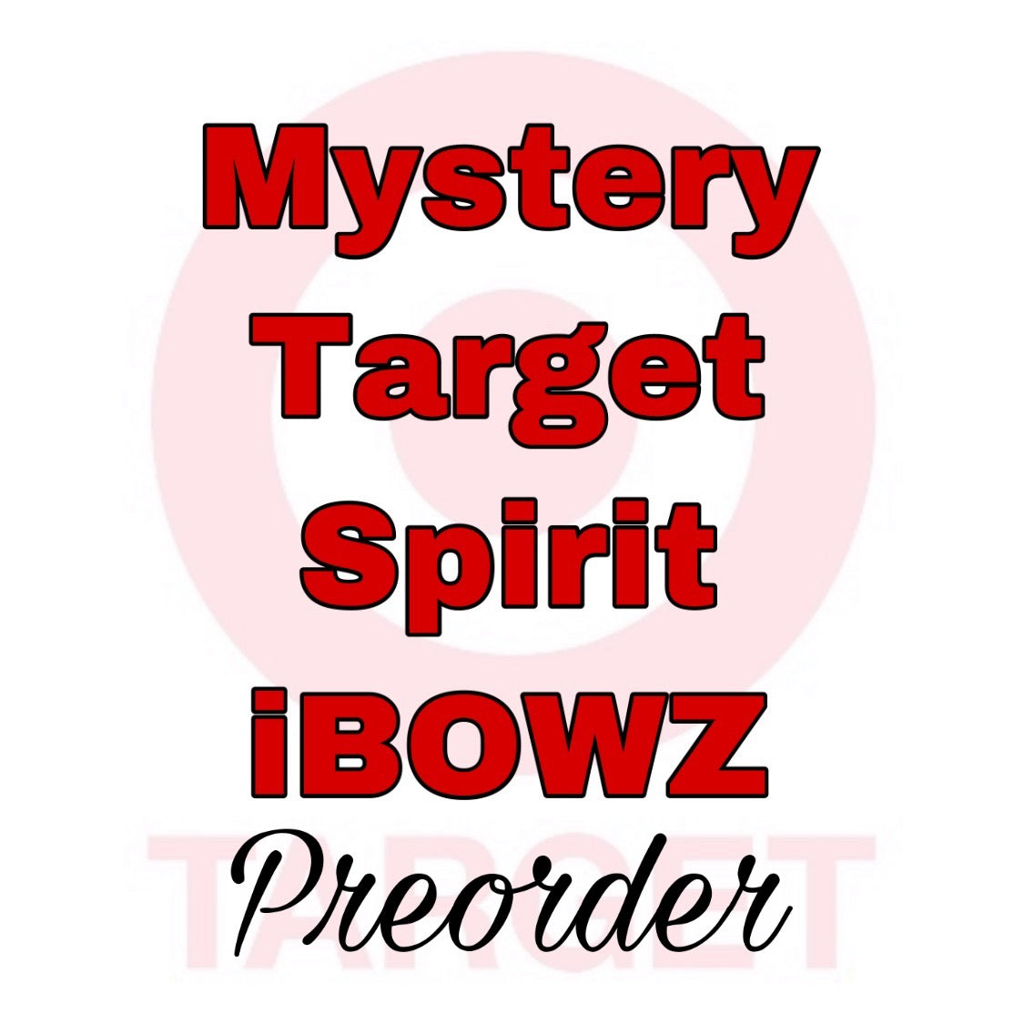MYSTERY TARGET PREORDER HAIRBOW ~ Preorder hair bow ~ ibowz fun & funky hairbows