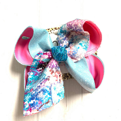 FROZEN FLIP SEQUIN FUN BOW