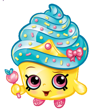 CUPCAKE QUEEN SHOPKINS~ CHOOSE ~APPLIQUE HAIRBOW & MATCHING SHIRT