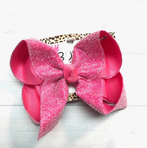 Frosted Sparkle Glitter Fun Bows |Spring Colors Perfect for Spring | Easter & Summer!