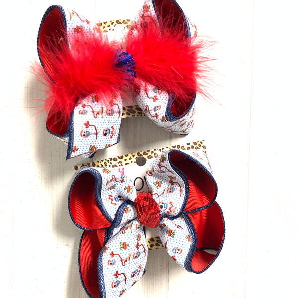 Forkey ~ Toy Story Fun Hairbow by iBOWZ~ Only available in Biggie , Large & XLG