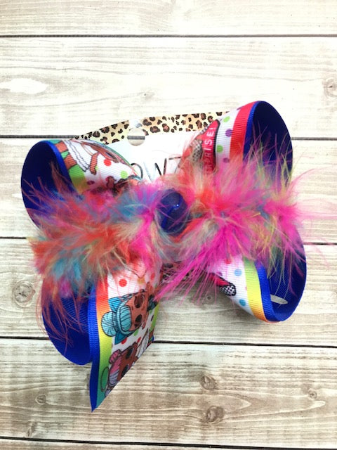 NEW LOL SURPRISE DOLLS ~ Polka dot print ~ Multi color boa