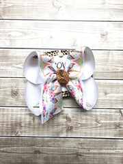 New Unicorn Fun bow | Spring & Summer Fun | Choose your bottom color