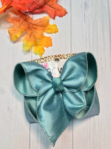 SeaMist Dressy Fall iBOWZ | Hairbow | Baby bow | Big Mega Bow
