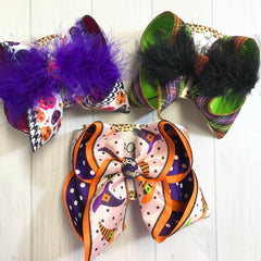 Hocus Pocus Collection Bundle ~ hair bow bundle by iBOWZ Fun & Funky Hairbows