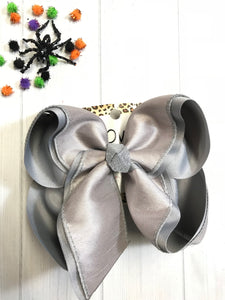 Silver Fox Gray Fall & Halloween Silk Duponi Essentials