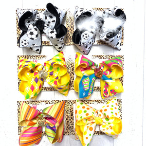 "Shop The Wall ~ Ready 2 Ship ~ BIGGIE 5""  bows"
