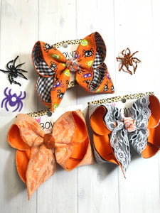 Bundle ~ Spiders + Halloween Lace + Fall Lace Bundle of iBOWZ