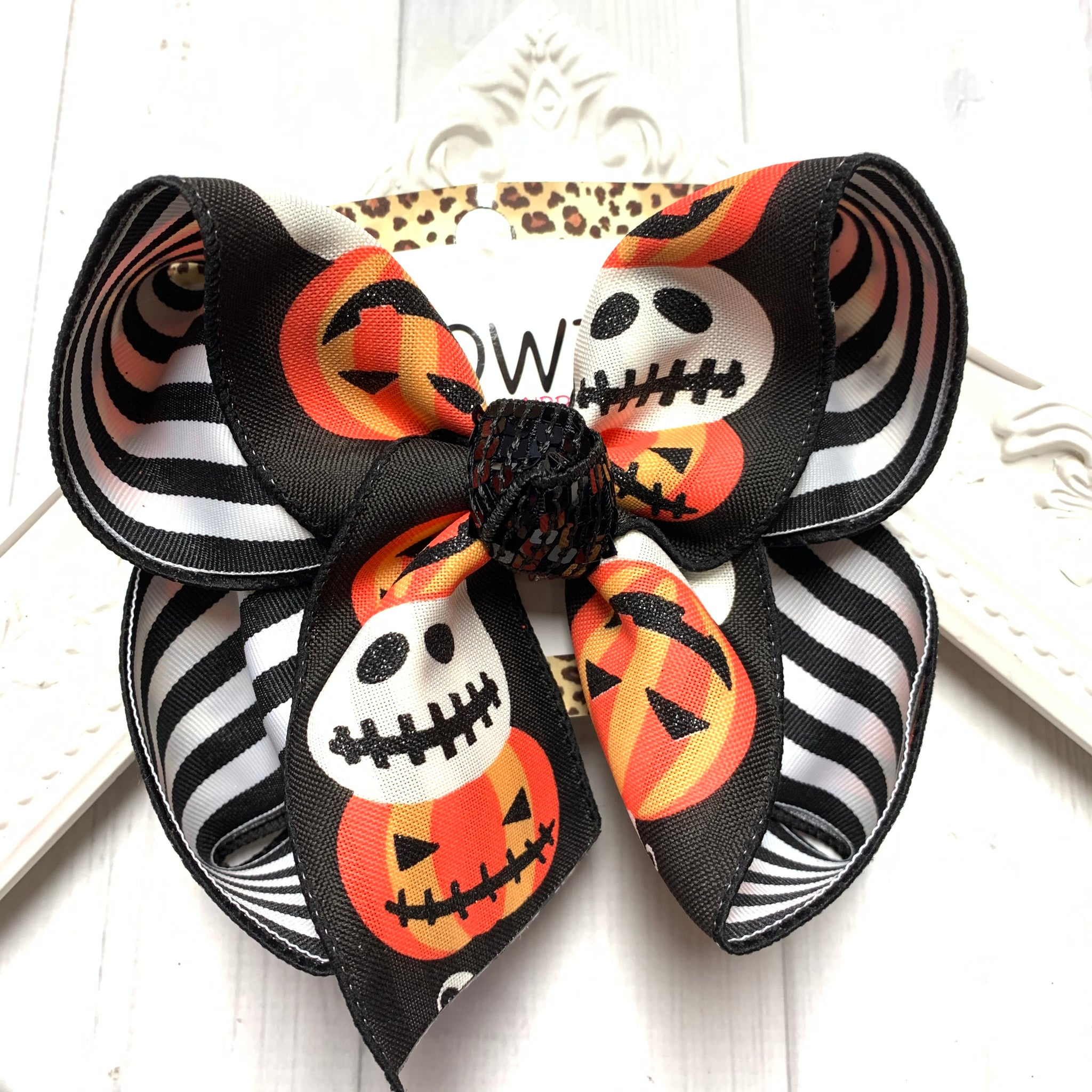 Halloween Release ~ Jack - o- lanterns OH MY! Little touch of Glitter & Stripes Fun iBOWZ