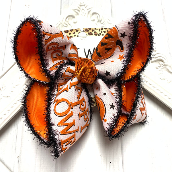 Halloween Release BUNDLE ~ Jack- O- Lantern + Black Gingham + Happy Halloween Fun bows