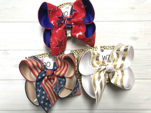 Stars and Stripes! Patriotic Fun iBOWZ | Every girl must have these! ~ buy one or BUNDLE all and SAVE $$!!