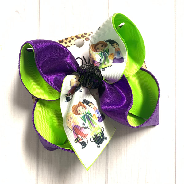 Hocus Pocus One of a Kind Fun iBOWZ ~ Halloween Bow~ iBOWZ ~ Limited Time Only