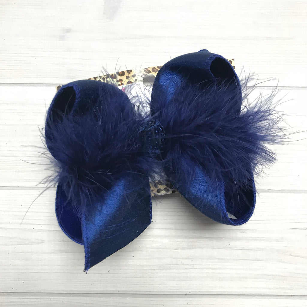 New Limited Royal Blue Silk Dupoini fun iBOWZ | Limited Time