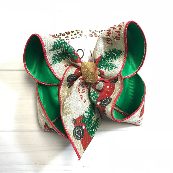 "Bundle "" Christmas in the Wilderness"" Collection ~ iBOWZ Fun & Funky Hairbows"