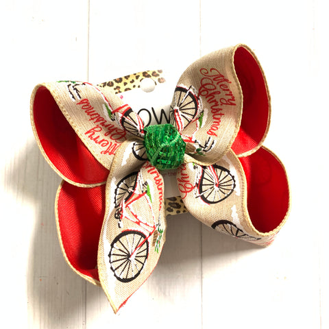 Merry Christmas Bicycle~  Santa's Christmas Trail Collection    ~ New Limited Release