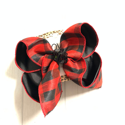 Buffalo Plaid ~ Santa's Christmas Trail Collection  ~ New Limited Release