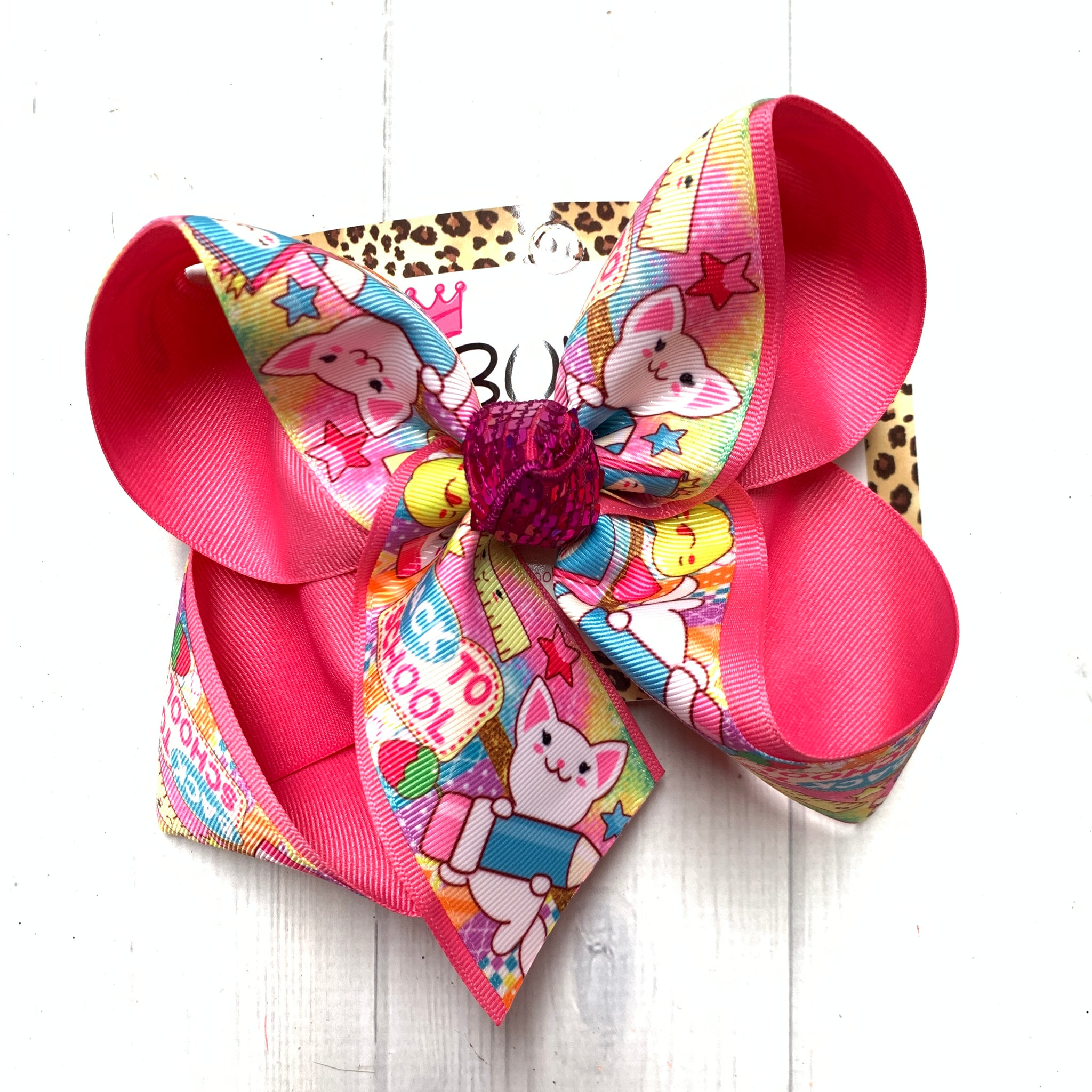 Back to School Fun Print ~Perfect for School time @home or school ~ iBOWZFun & Funky hairbows