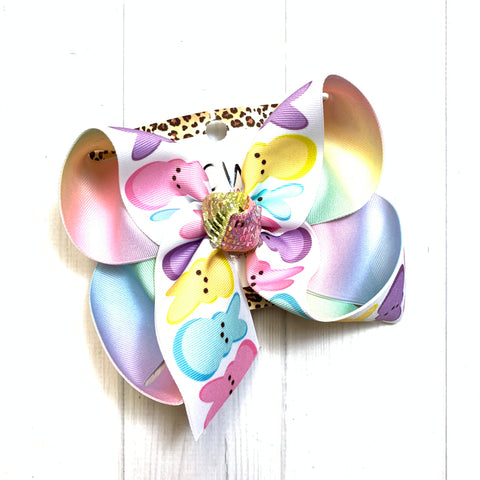 Easter Peeps Fun Bow Only ~ One of a Kind Fun iBOWZ ~Limited Time Only