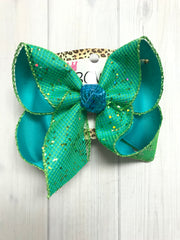 Mermaid Inspired Fun iBOWZ hairbow