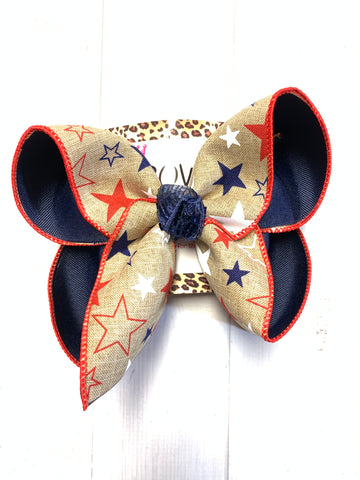 Red White & Blue Fun iBOWZ | CHOOSE YOUR BOW|  iBOWZ Fun & Funky Hairbows