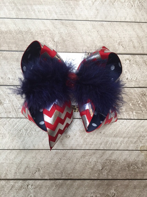 Football | Olemiss | Go Rebels | New + Limited Hair-bows
