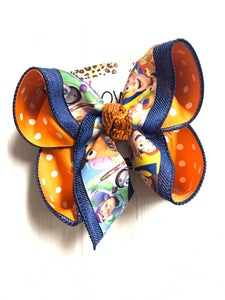 DISNEY ~ TOY STORY Fun Hairbow~  iBOWZ Fun & Funky Hairbows