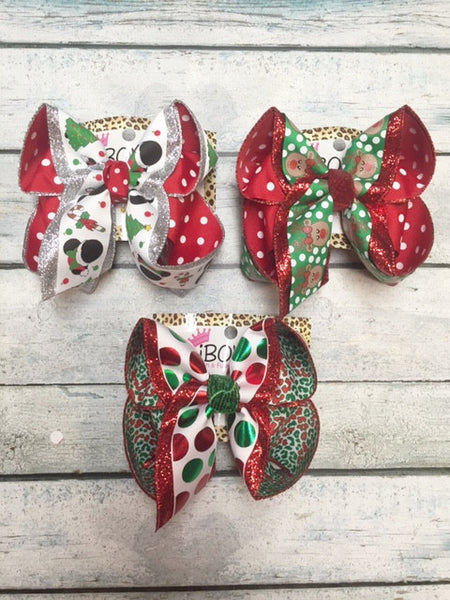 CHRISTMAS PREORDER ~ MICKEY MOUSE ~ REINDEER ~ SHINNY DOTS!