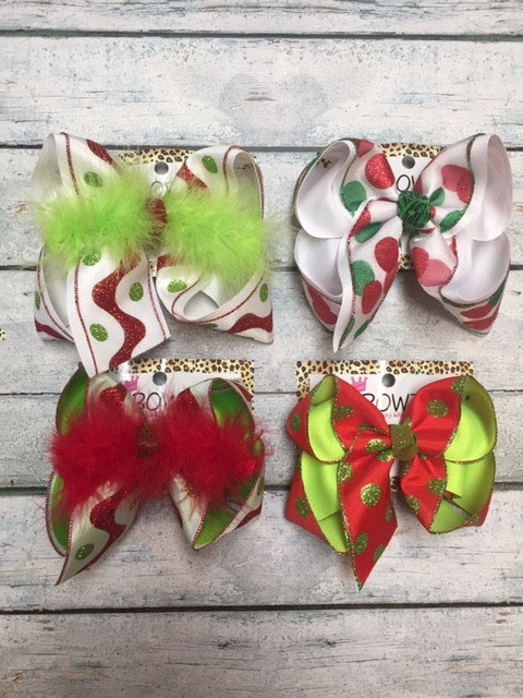 CHRISTMAS PREORDER ~ RED & GREEN