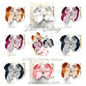 Vintage Lace Bundle ~ Gorgeous Fall iBOWZ