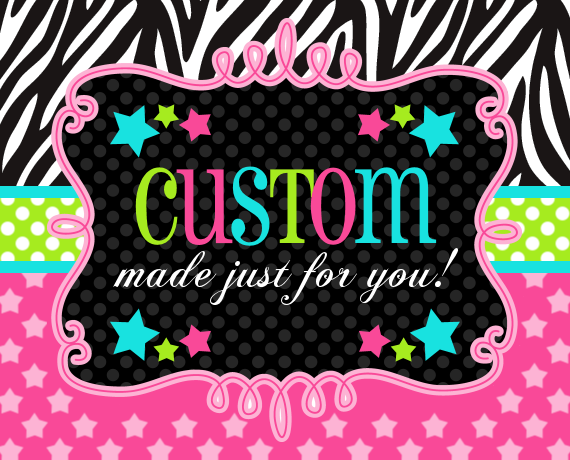 CUSTOM ORDER FOR CHERIE ROWLEY