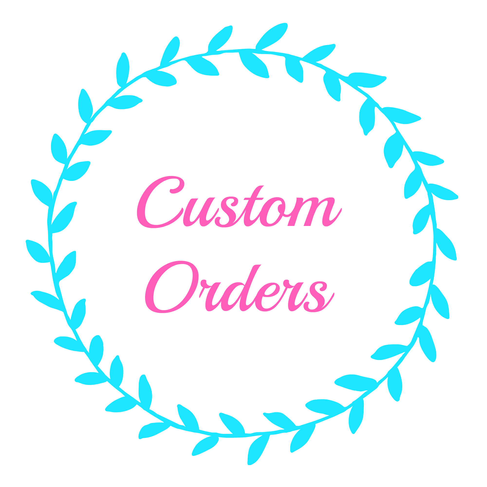 CUSTOM ORDER FOR GIANNE BRUMFIELD