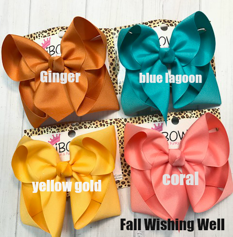 Fall Wishing Well Bundle | New Fall Bundle | Ginger | Blue lagoon | Yellow gold | Coral