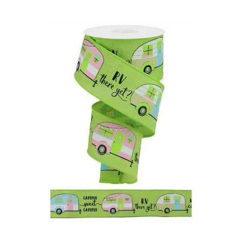 Happy Camper Ribbon ~ RV there yet ?? ~ Fun New Limited iBOWZ