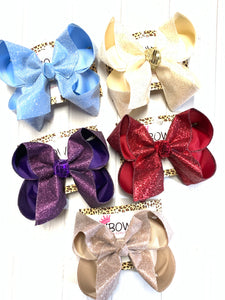 New Sparkle Glitter Fun iBOWZ~ Choose your Glitter ~ Limited Time
